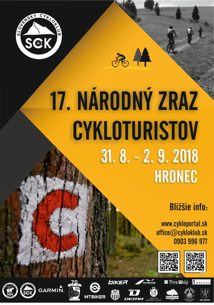 narodny zraz cykloturistov 2018