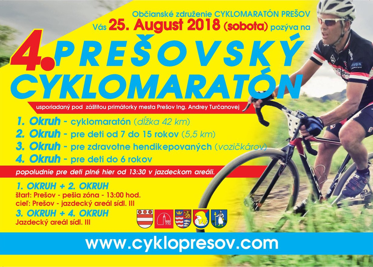 presovsky cyklomaraton 2018