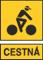 cestna cierny cyklista biele pozadie