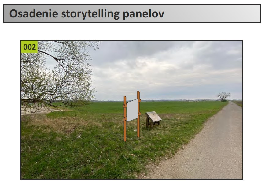Zjednodušená dokumentácia - Osadenie storytelling panelov EuroVelo 13